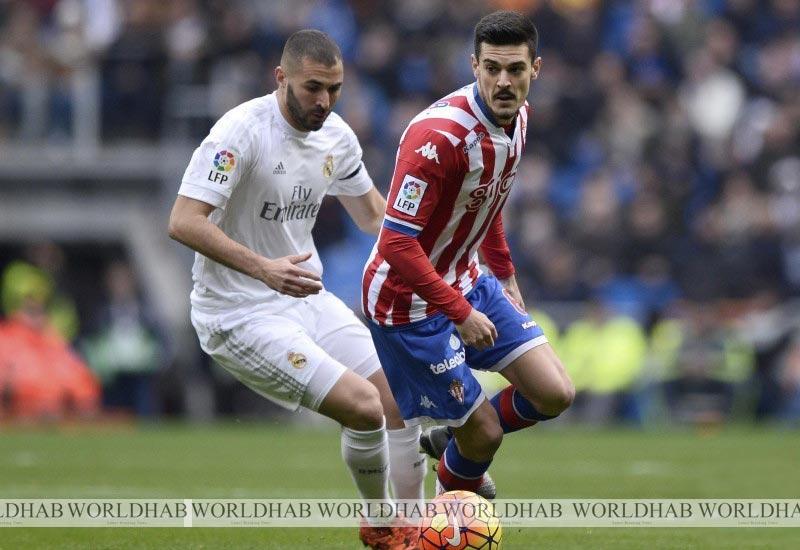 Real Madrid vs Sporting Gijon Football Live Streaming Score Lineup La Liga 2016-17