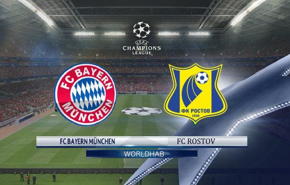 Rostov vs Bayern Munich Live