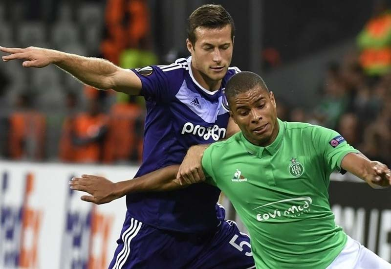 Anderlecht vs St Etienne Live Streaming Europa League Lineup & Score