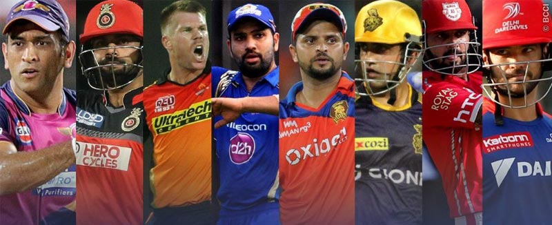 Check the complete list of retained players by Eight teams in IPL 10