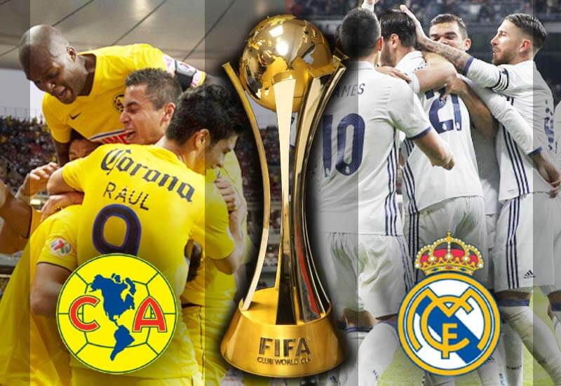 Club America vs Real Madrid LIVE