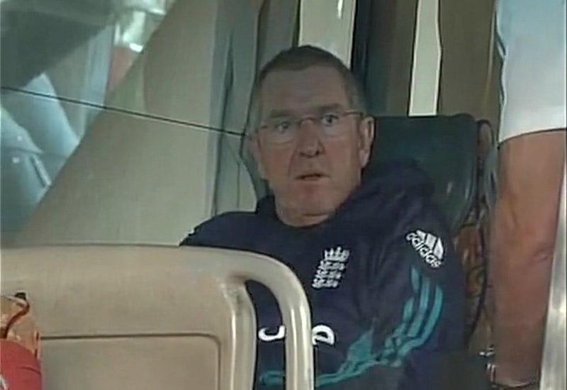 India vs England Last Test the England team landed Cyclone Vardah-hit Chennai