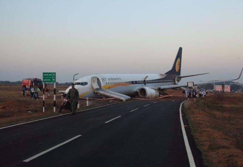 Jet Airways Goa to Mumbai flight skids off runway, 5 injured