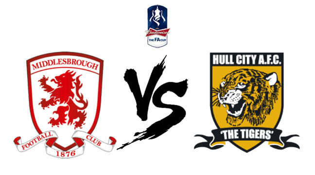 Middlesbrough vs Hull City Live Score