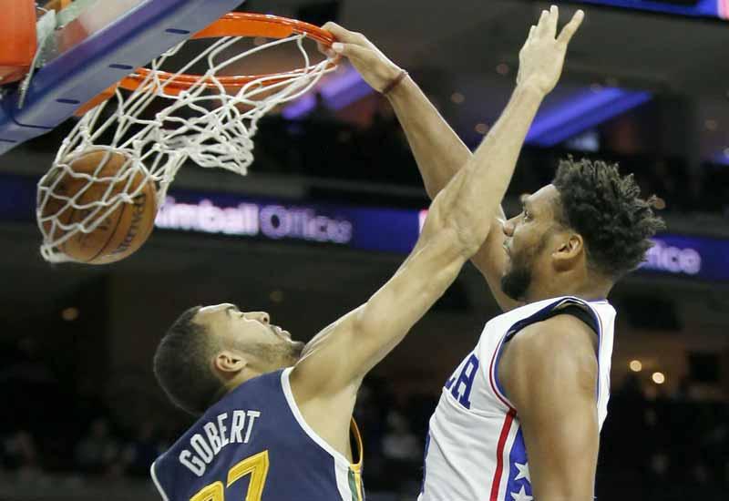 Philadelphia 76ers vs Utah Jazz Live Streaming