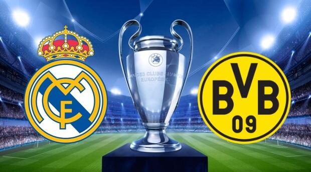 Real Madrid vs Borussia Dortmund Live