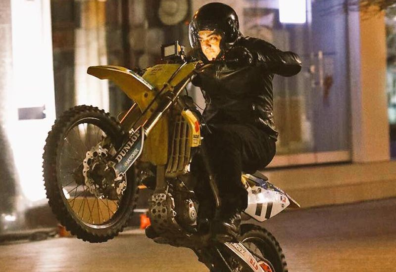 Thala 57 Bike stunts Video Leaked on Online Social Media Viral Video in Dec. 18