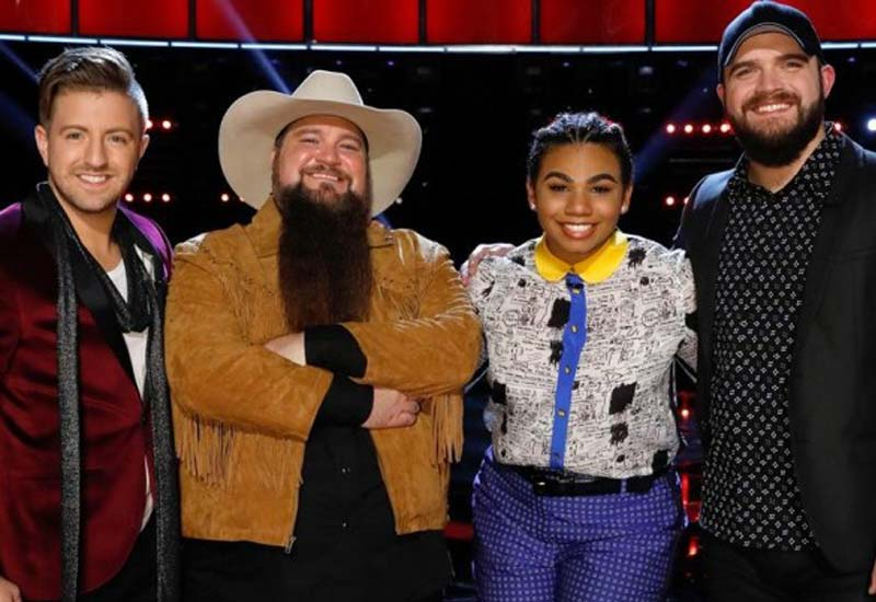 The Voice USA 2016 finale Check the list of finalists and Songs performed