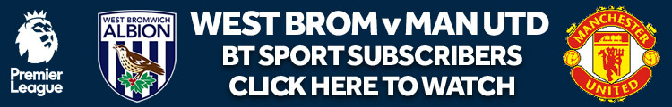 West Brom vs Man United