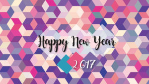 happy new year colorful image