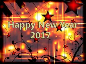 happy new year 2017 star image