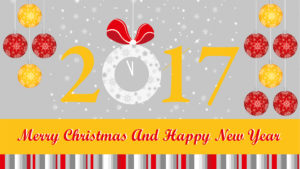 happy new year and christmas wallpaper