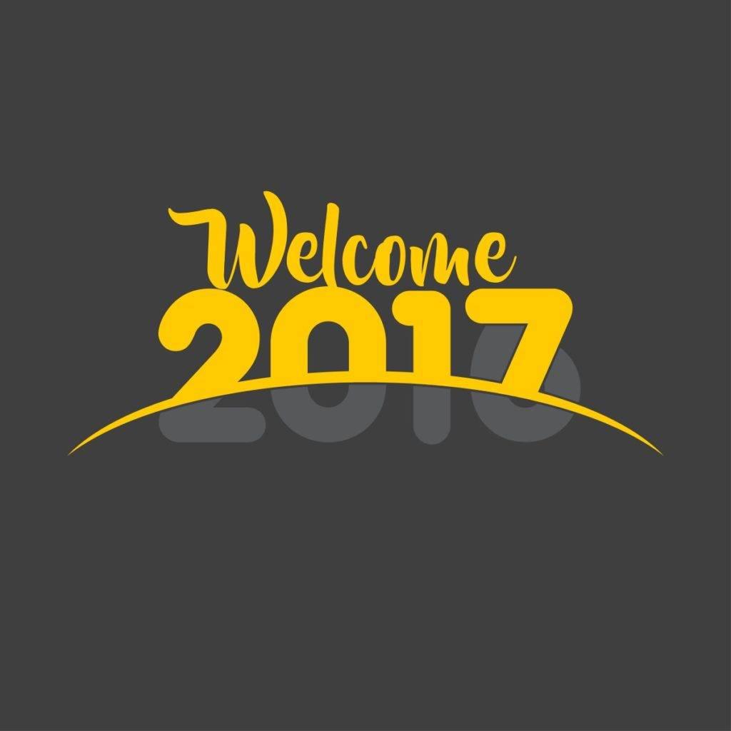 welcome newyear 2017