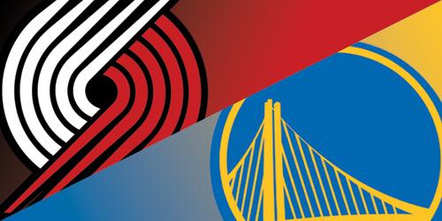 Golden State Warriors vs Trail Blazers