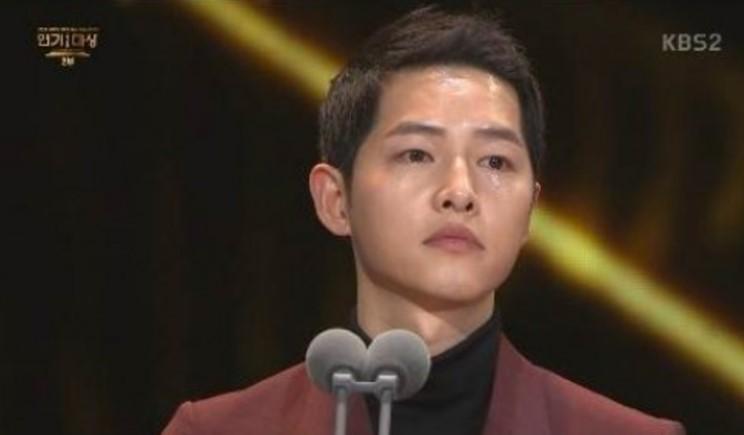KBS drama award Song Joong Ki