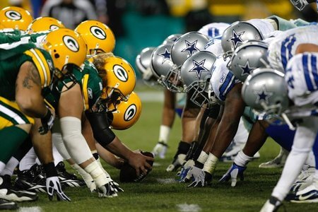 Green Bay Packers vs Dallas Cowboys NFL
