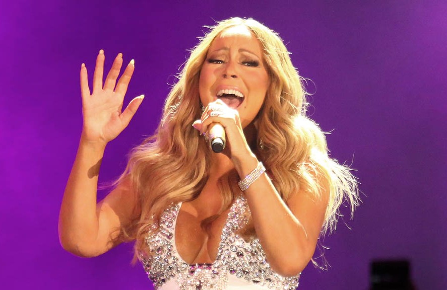 Mariah Carey 2017 New Year eve Performance