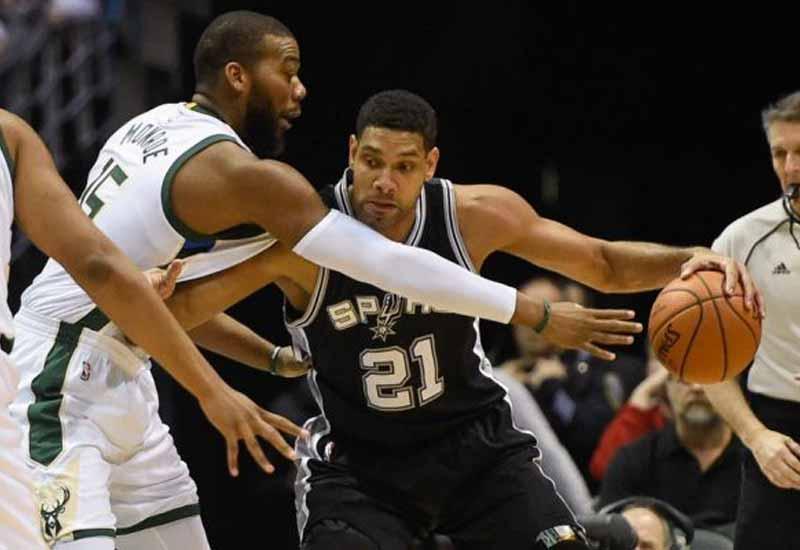 Milwaukee Bucks vs San Antonio Spurs