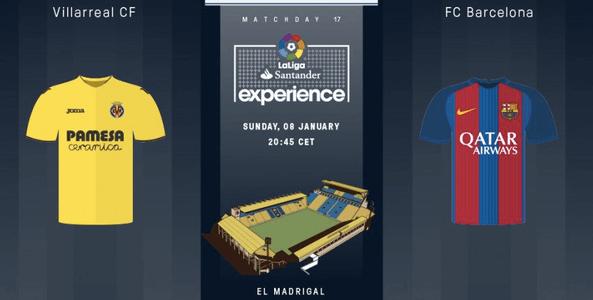 Villarreal vs Barcelona Live Streaming