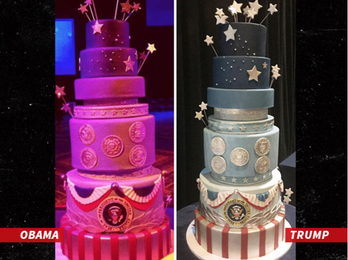 donald trump inauguration cake design