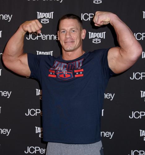 john cena biceps