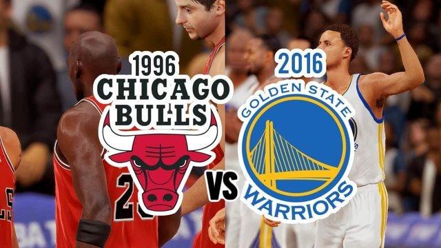 Bulls vs Warriors NBA Score