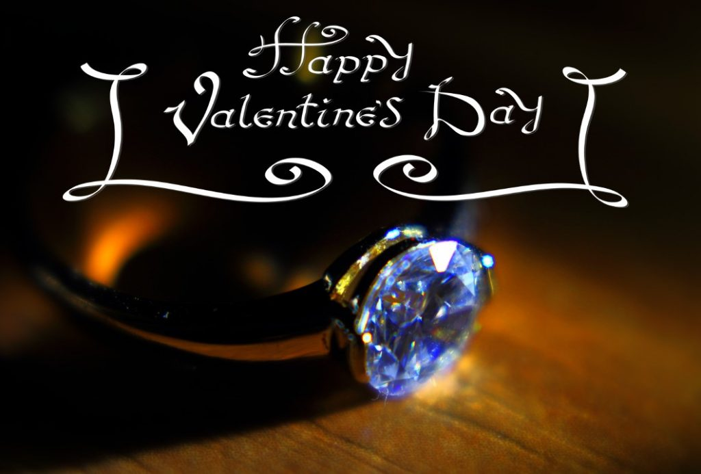 happy valentines day 2017 ring