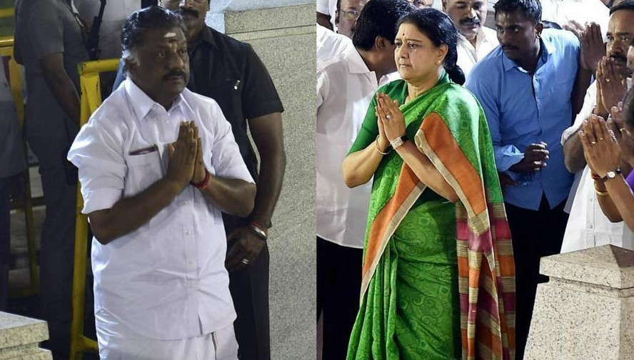jayalalitha sasikala vs ops breaking news
