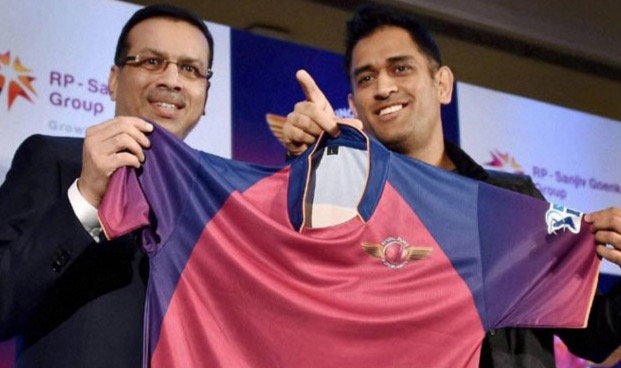 rising pune supergiants ms dhoni removed as captain