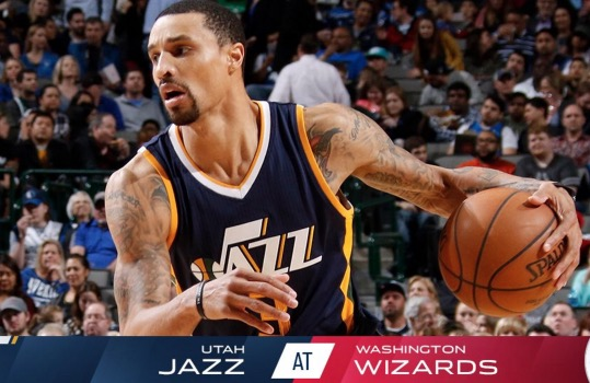 utah jazz vs washington wizards