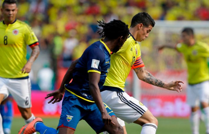 Ecuador vs Colombia Live Streaming, Lineups, Score
