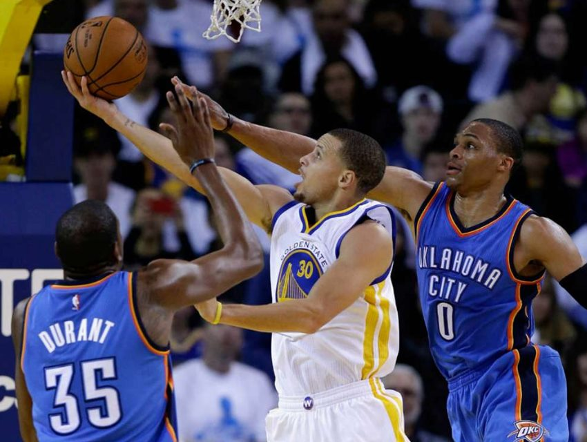 Golden State Warriors vs Oklahoma City Thunder