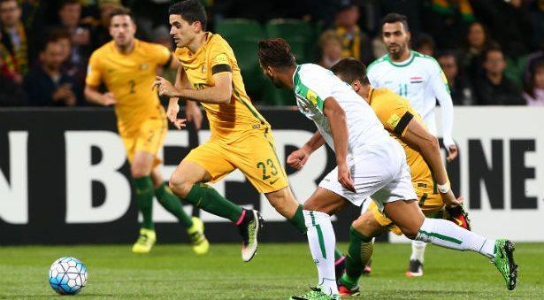 Iraq vs Australia Live Streaming football, Lineups