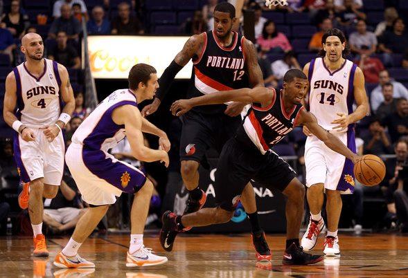 Portland Trail Blazers vs Phoenix Suns Live Streaming