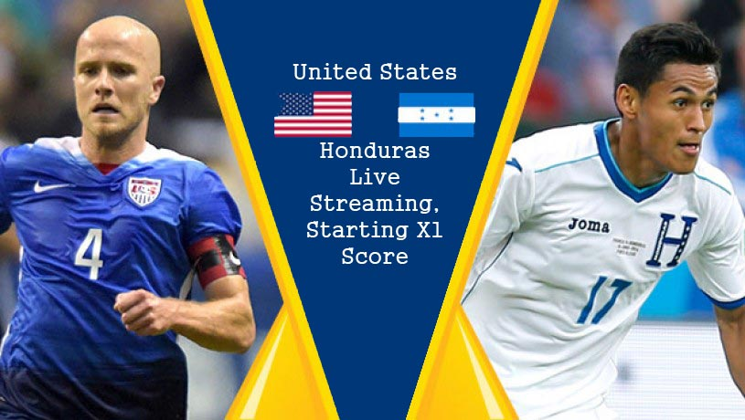 USA vs Honduras Live Streaming, Starting XI