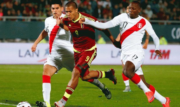 Venezuela vs Peru Football World Cup Qualifier