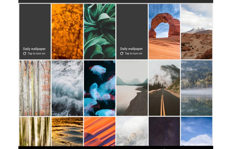 Google added extra more wallpapers to the Pixel & Wallpapers App