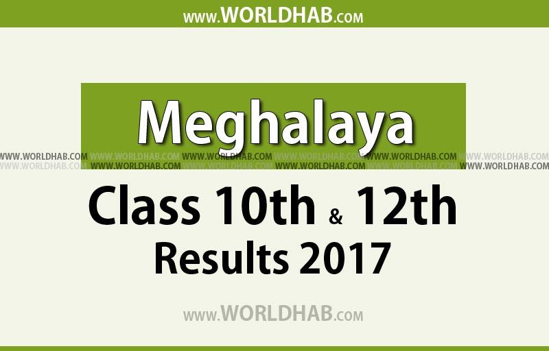 Meghalaya class 10th & 12th arts result 2017
