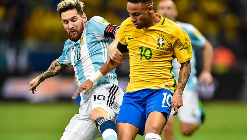 Brazil vs Argentina Lineups, final result score, highlights International Friendly