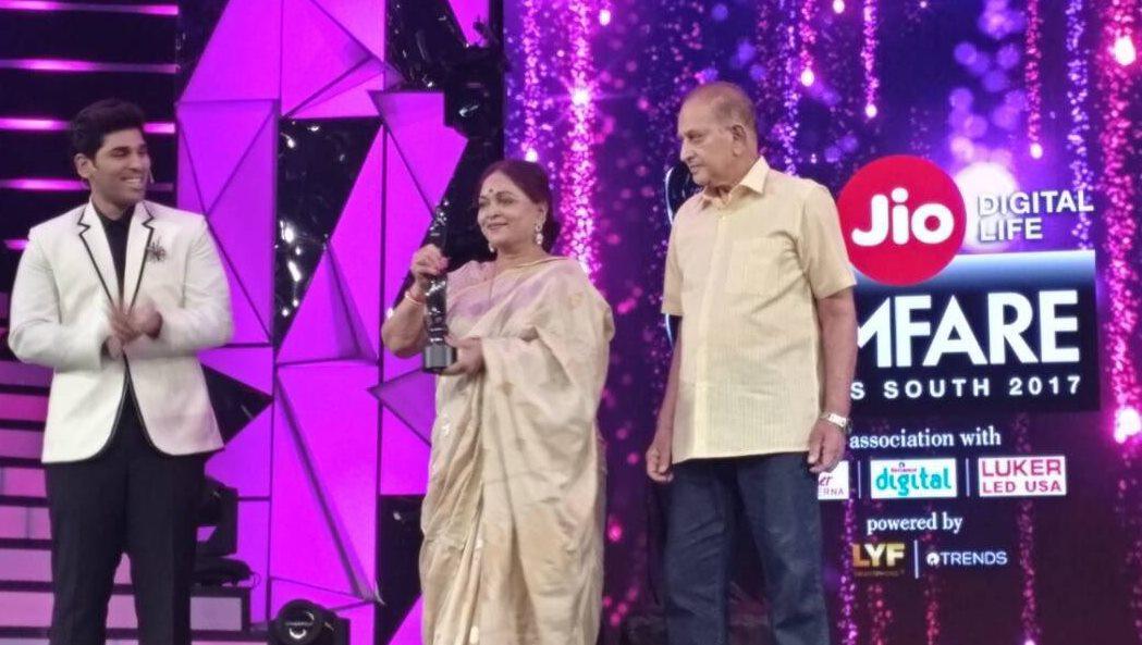 Filmfare Awards 2017 Telugu Nominees & Winners List