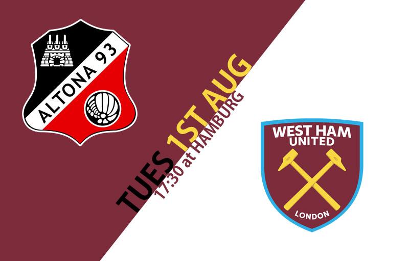 Altona 93 vs West Ham United