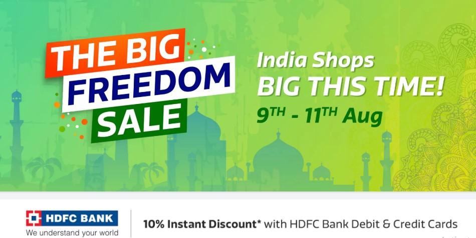 Flipkart The Big Freedom Sale