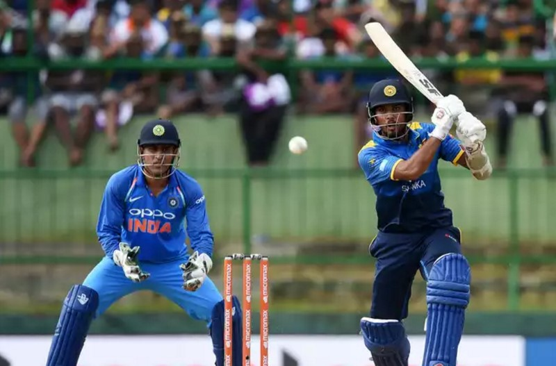 India vs Sri Lanka 4th ODI match - Dinesh Chandimal