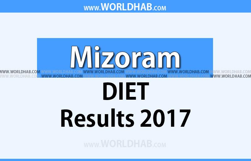 Mizoram DIET Results 2017