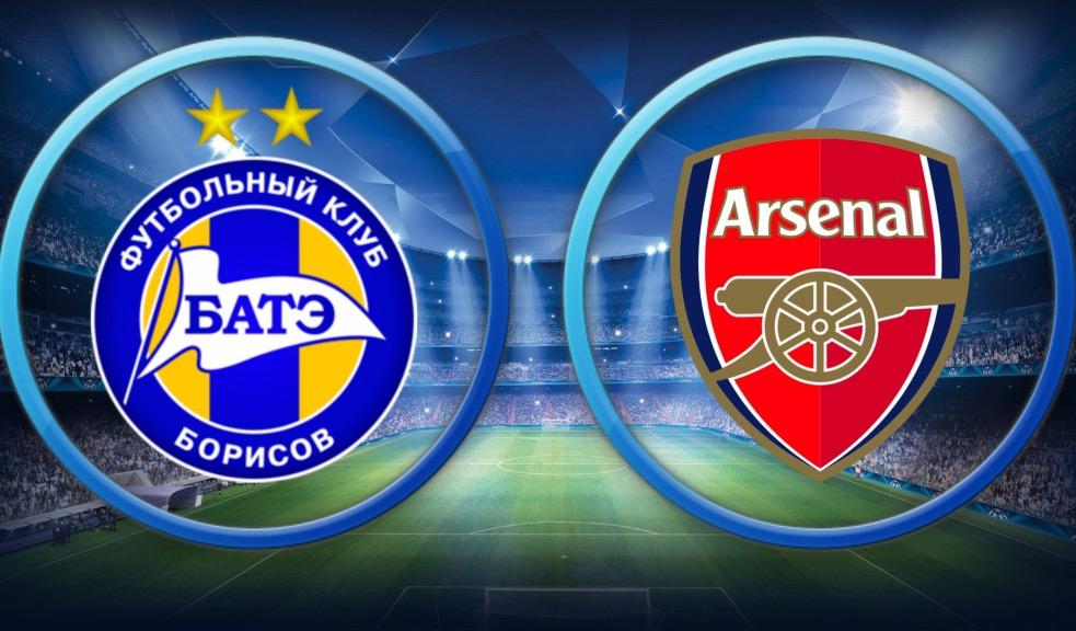Bate Borisov vs Arsenal