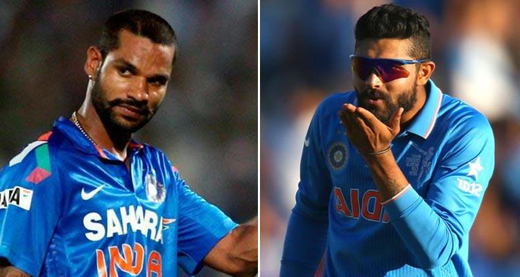 Dhawan, Jadeja will not play in 4th and 5th ODIs in India vs Australia series