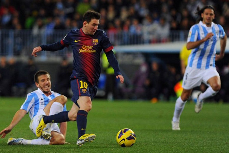 Barcelona vs Malaga Live Streaming Spanish La Liga 2017-18