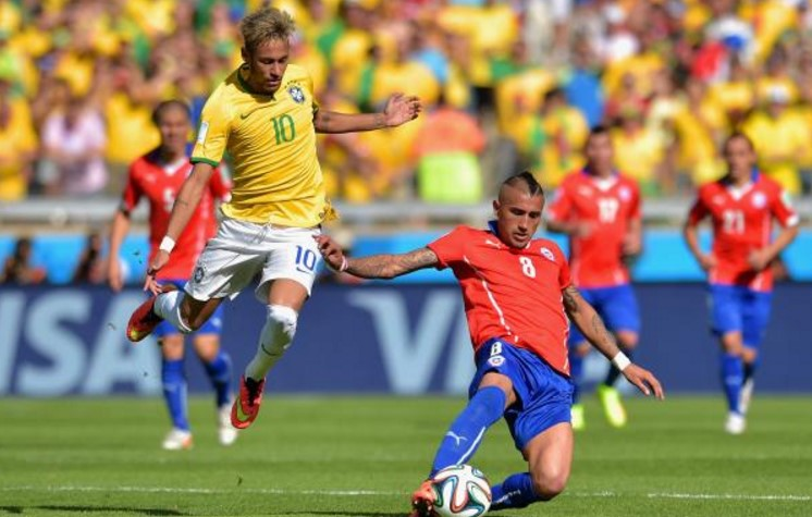 Brazil vs Chile Live Streaming online and TV channels