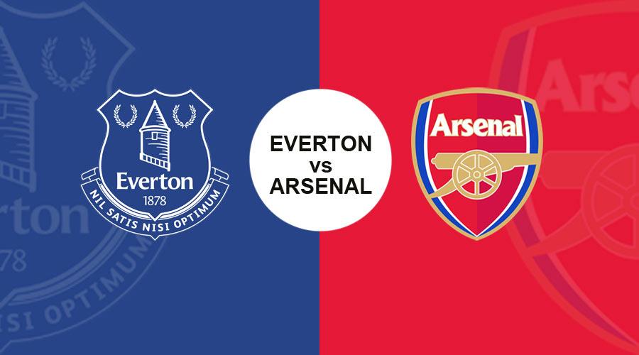 Everton vs Arsenal Live