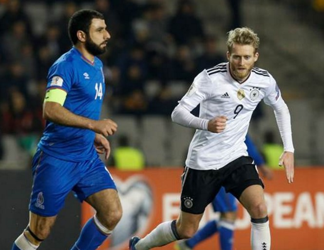 Germany vs Azerbaijan Live Streaming, Lineups, scores WCQ 2018